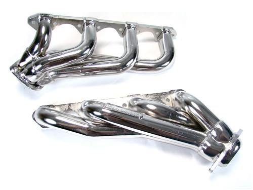 BBK Mustang Shorty Headers Chrome (79-93) 5.0L 1515
