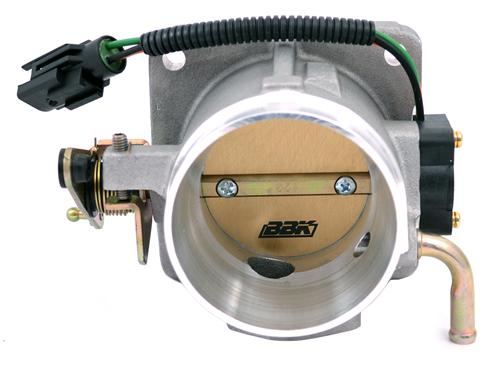 BBK Mustang 5.0L 65mm Satin Throttle Body (86-93) 1517