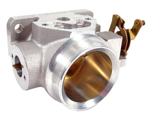 BBK  Mustang 56mm Throttle Body Satin (94-98) V6  3.8 1548