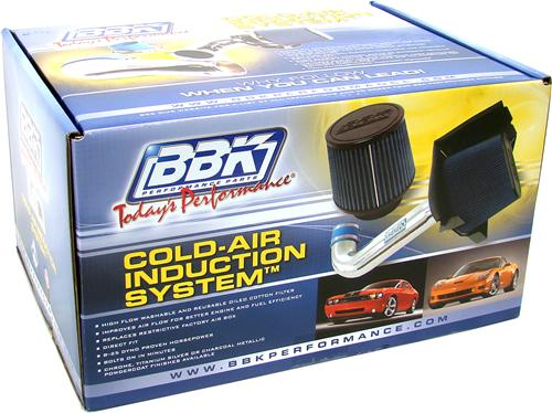 BBK Mustang 5.0L V8 Cold Air Intake Kit (89-93) 1556