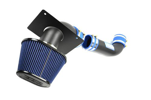 BBK Mustang V8 Blackout Fenderwell Cold Air Intake Kit (89-93) 15575
