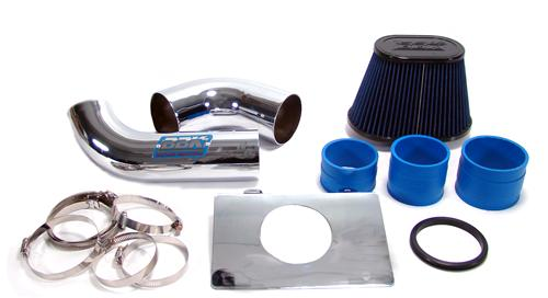 BBK Mustang Cold Air Intake Kit Chrome (89-93) Fenderwell Mount 5.0L 1557