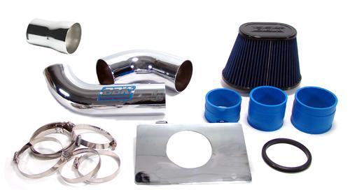 Mustang BBK V8 Fenderwell Cold Air Intake Kit (86-88)