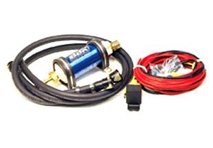 BBK  Mustang Power Plus Series 50 GPH Inline Fuel Pump for EFI  (86-97)
