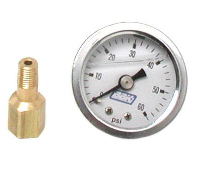 BBK  Fuel Pressure Gauge 0-60 Psi  Liquid Filled  1617