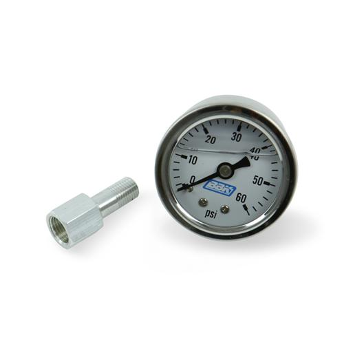 BBK  Fuel Pressure Gauge 0-60 Psi  Liquid Filled