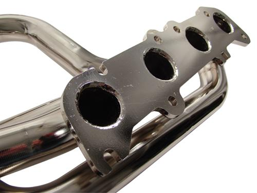 BBK Mustang Coyote 5.0 Swap Full Length Headers Chrome  (79-04) 1634