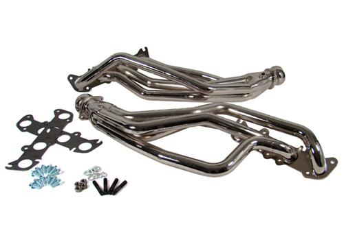 BBK Mustang Chrome Coyote 5.0 Swap Full Length Headers (79-04) 1634