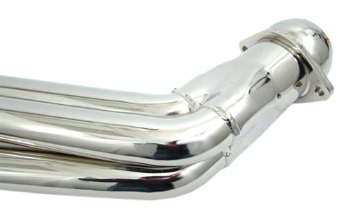 "BBK Mustang 3.7L V6 1-3/4"" Full Length Headers Chrome (11-14) 1074"