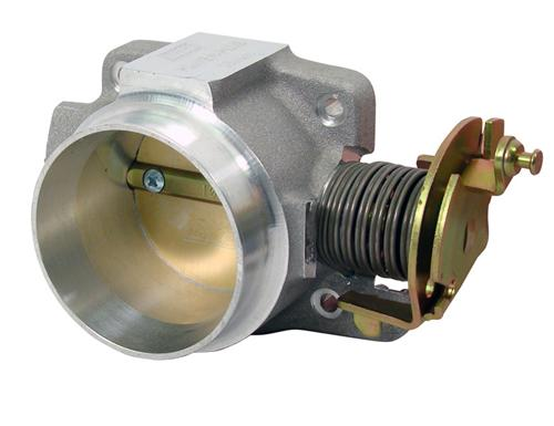 BBK  Mustang 65mm BBK Throttle Body Satin (01-04) V6 3.8 1652