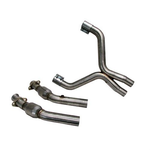 BBK Mustang GT-500 Full Length X-Pipe  Aluminized Steel (07-10) 5.4L 1698