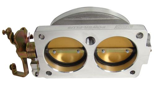 BBK  Mustang Twin 65mm Throttle Body Satin (96-01) Cobra 4V 4.6