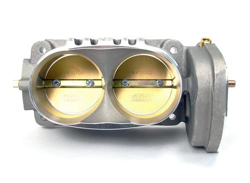 BBK Mustang Twin 62mm Throttle Body Satin (05-10) GT 4.6L BBK-1763