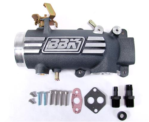 BBK  Mustang 78mm Throttle Body Intake Plenum (96-04) GT 2V 4.6