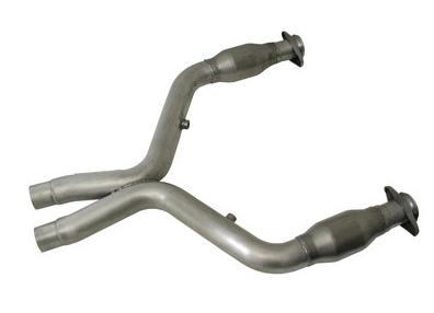 BBK Mustang GT500 Catalytic X-Pipe for Long Tube Headers (07-12) 5.4L 18515