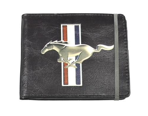 Ford Mustang Running Pony Logo Wallet