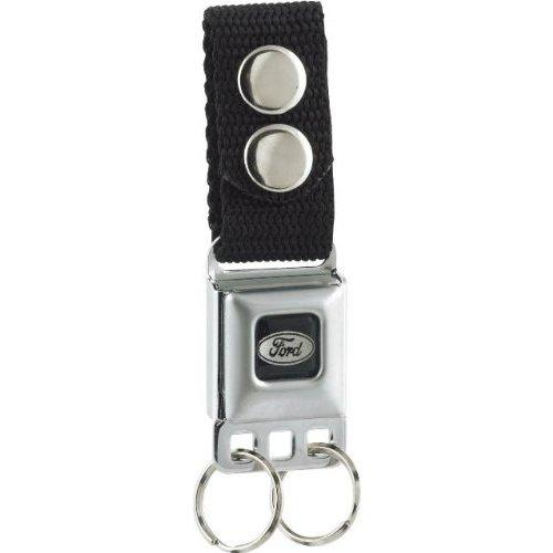 Ford Logo Key Chain  Seat Belt Style