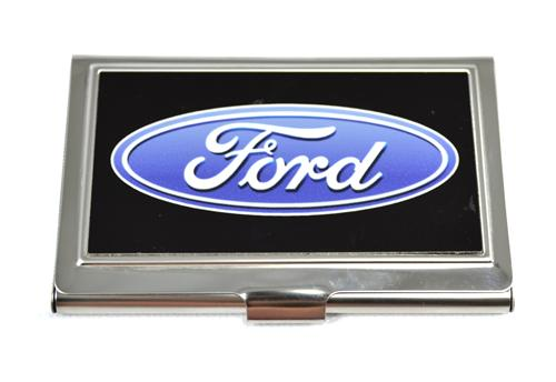 Ford Oval Logo Business Card Holder