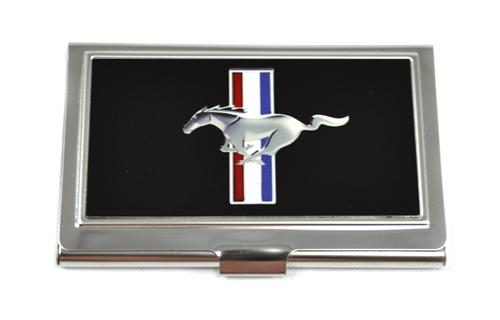 Mustang Running Pony Business Card Holder