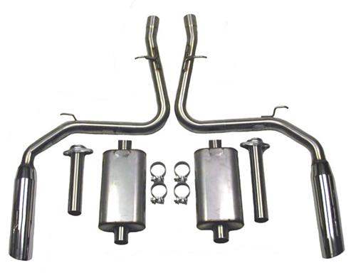 Bassani Mustang Cobra Cat-Back System (03-04)