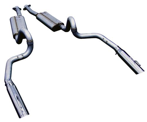 Bassani Mustang Cat-Back System (99-04) GT-Mach 1 46995S