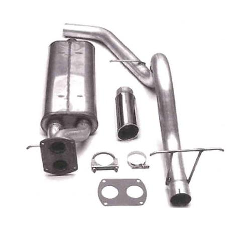 Bassani F-150 SVT Lightning Cat-Back System Stainless  (93-95)