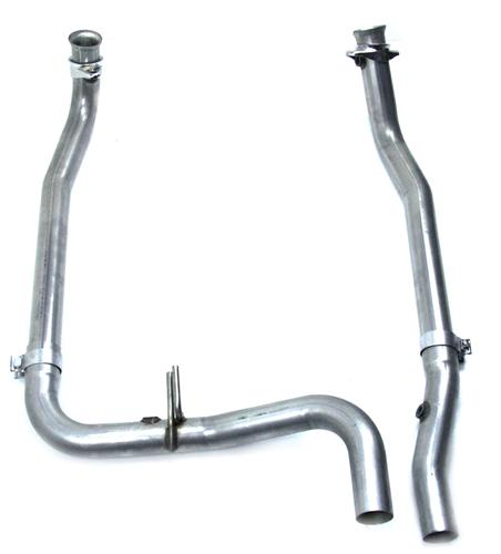 1999-04 Ford Lightning 5.4L Off-Road Aluminized Mid-Pipe - Picture of 1999-04 Ford Lightning 5.4L Off-Road Aluminized Mid-Pipe