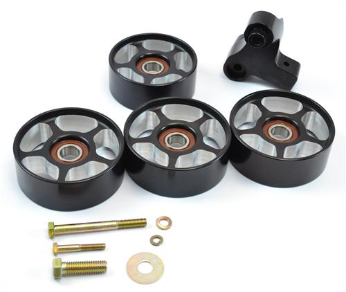 Mustang Cobra Snub Idler & Idler Pulley 4 Piece Kit (03-04)