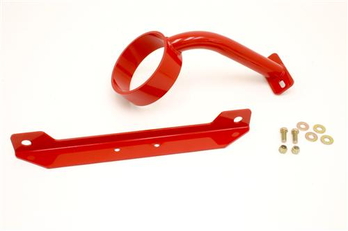 BMR Mustang Driveshaft Safety Loop Red (11-14) GT DSL017R