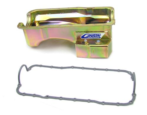 Canton Mustang T-Sump Road Race Oil Pan Kit (79-95) 5.8