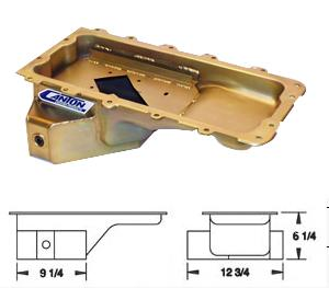 Mustang  T-Sump Street/Strip Oil Pan Kit (05-10) 4.6L 5.4L