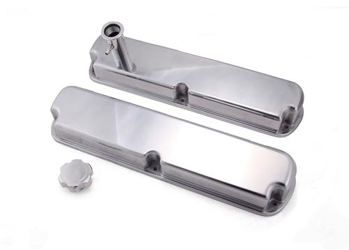 Mustang Aluminum Valve Covers Polished (86-93) 5.0