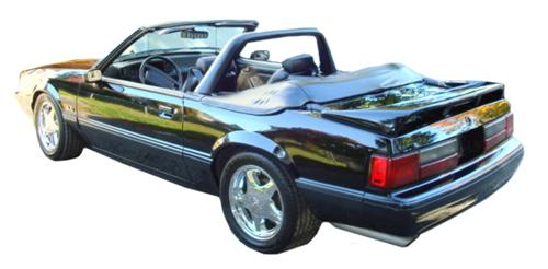 Mustang Black Vinyl Light Bar (90-93)