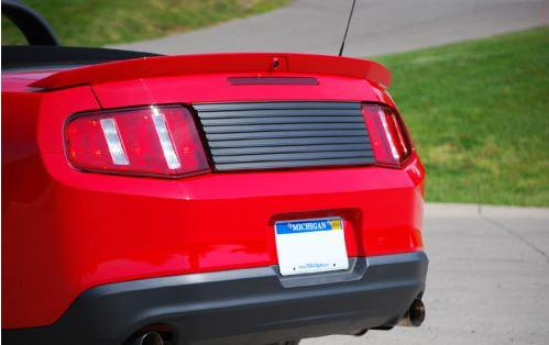 Mustang Decklid Trim Panel- No Badge (10-12)