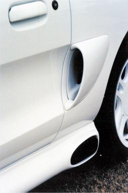 Mustang Quarter Panel Side Scoops (94-98)
