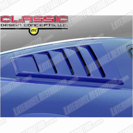 CDC Mustang Louvered C-Pillar Scoops (05-14)