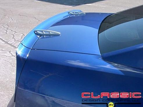 Mustang Rear Deck Lid Spoiler Hole Deletes (05-09)