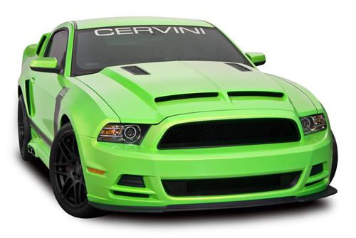 Cervini Mustang Type 4 Ram Air Hood (13-14) 1211