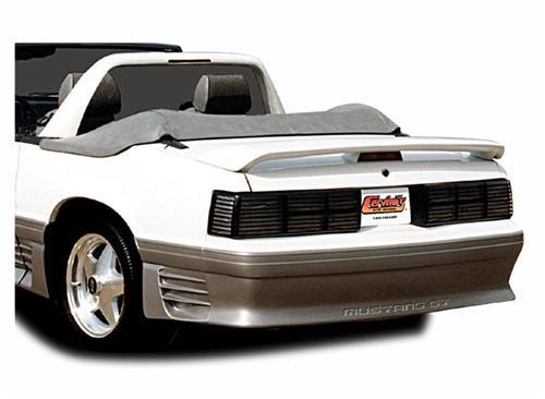 Cervini's Mustang Coupe/Convertible Rear Trunk Lid Spoiler (79-93)