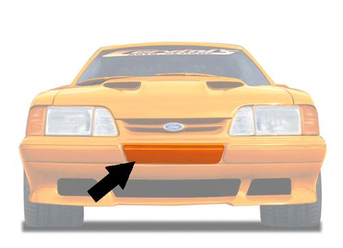 Mustang LX Front Saleen Style Bumper Filler (87-93) 311