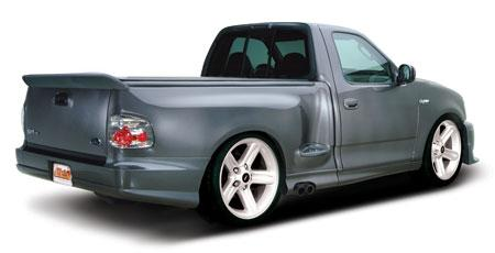 F-150 SVT Lightning 3Pc Urethane Rear Bumper (99-04)