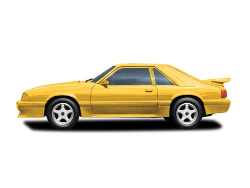 Cervinis  Mustang LX Saleen Style Side Skirts (87-93)
