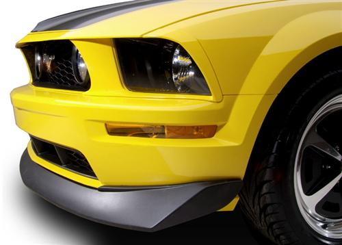 Cervini's Mustang B2 Style Chin Spoiler  Black Textured (05-09) GT 4318FTB