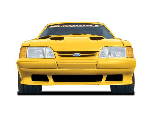Cervini's Mustang Saleen Front Air Dam (91-93) LX - Cervini Saleen Front Air Dam 1991-1993 Mustang Front Shot