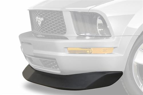 05-09 MUSTANG V6 TYPE B2 FRONT CHIN SPOILER, WITH BLACK TEXTURED FINISH