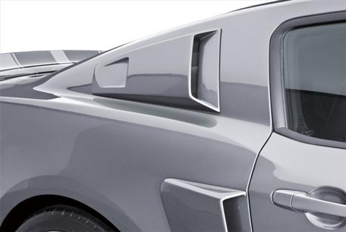 Cervini's Mustang Quarter Window Scoops (10-14) 4387