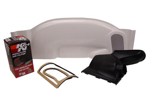 Cervinis  Mustang V8 Ram Air Hood Induction Kit (87-93)