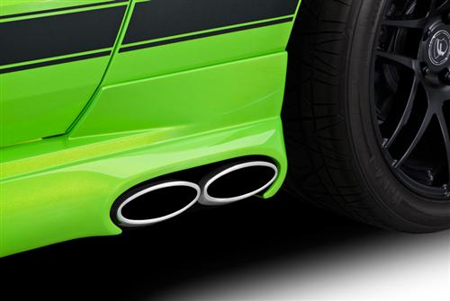 Cervini's Mustang 3'' Side Exhaust Kit W Skirts And Rear Valance (13-14)
