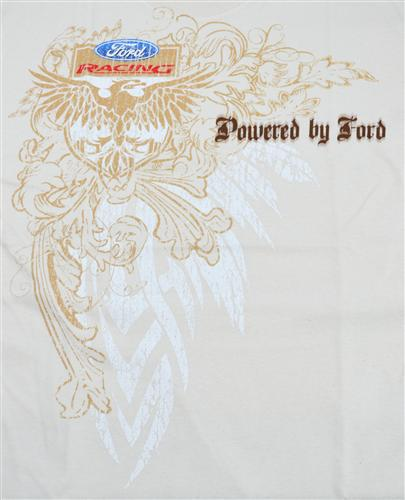 Powered By Ford T-Shirt, Large Tan