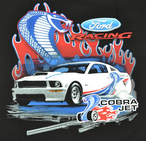 Cobra Jet T-Shirt, Large Black